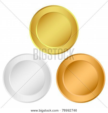 set of medals