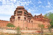 picture of prime-minister  - one of the few major forts in Rajasthan which is not built on a mountain or hilltop - JPG