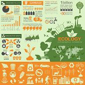 pic of ecosystem  - Environment ecology infographic elements - JPG