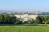 picture of schoenbrunn  - Crown prince privy garden of Schonbrunn Palace in Vienna - JPG