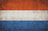 picture of holland flag  - The National flag of Nederlands, 