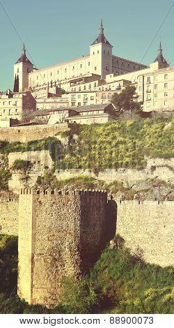 Alcazar Palace In Toledo