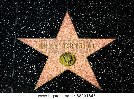 Billy Crystal Star On The Hollywood Walk Of Fame