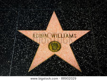 Robin Williams Star On The Hollywood Walk Of Fame