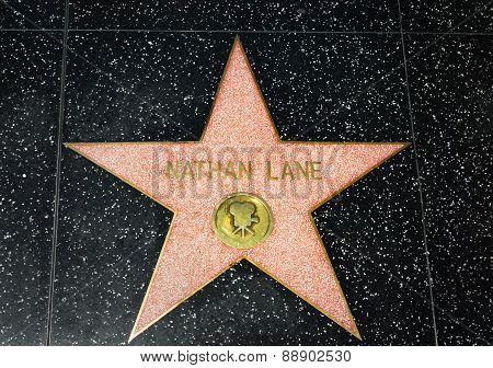 Nathan Lane Star On The Hollywood Walk Of Fame