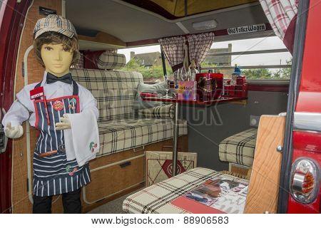 Vintage Vw Camper Van Interior