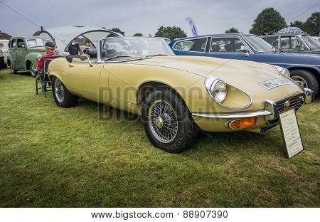 E Type Jaguar Convertible