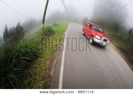 Taxi Near Monteverde Costa Rica