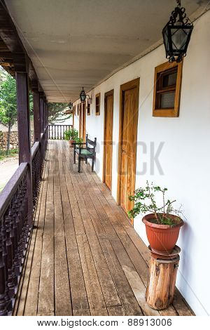 Old Colonial Balcony