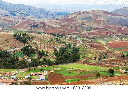 Farmlands In Peru