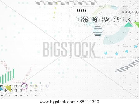 Abstract futuristic business background.