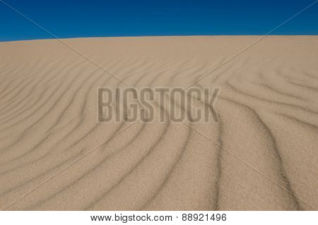 Abstract Sand Dune Pattern