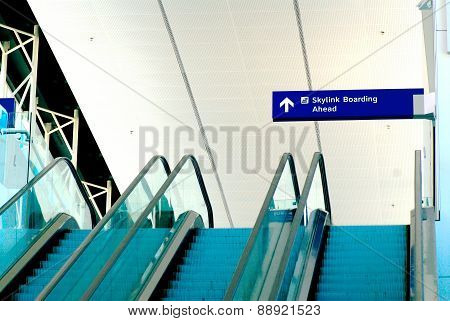 Airport Escalators