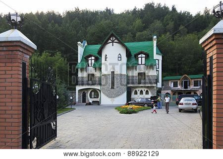 Pension Berkut in the resort Belokurikha.