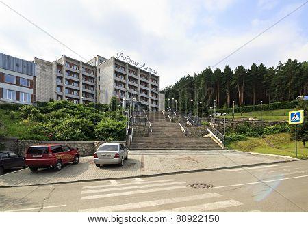 Sanatorium Rodnik Altaya at the resort Belokuriha.