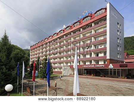 Sanatorium Siberia in the resort Belokuriha.