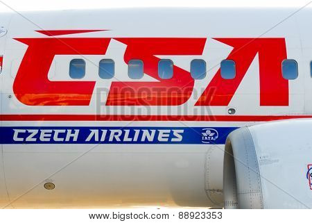 Czech Airlines Plane