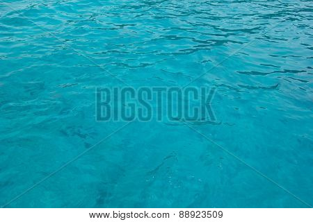 Clear Sea Water For Background