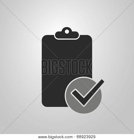 Ticklist or Checklist Icon Design