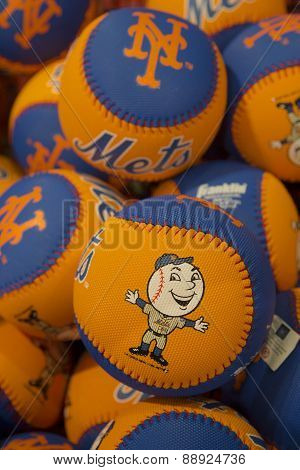 Mets souvenirs at the Citi Field