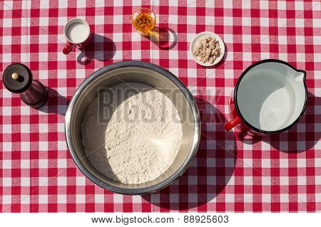 Ingredients For An Dough