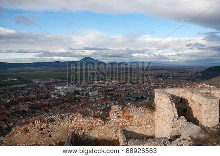 Rasnov Castle In Romania