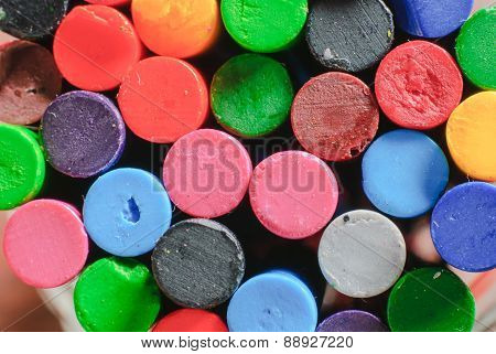Old Crayons Color