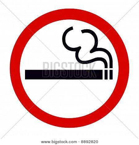 Symbol of Smoking area Zone