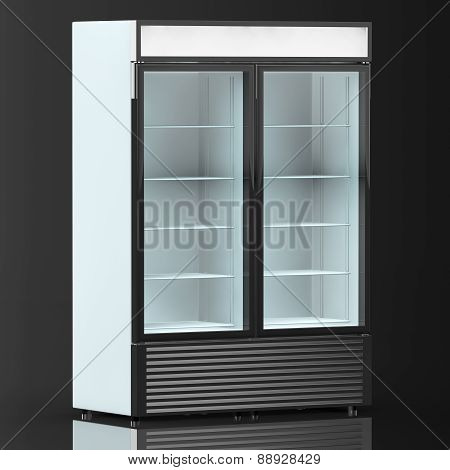 Fridge Drink With Glass Door