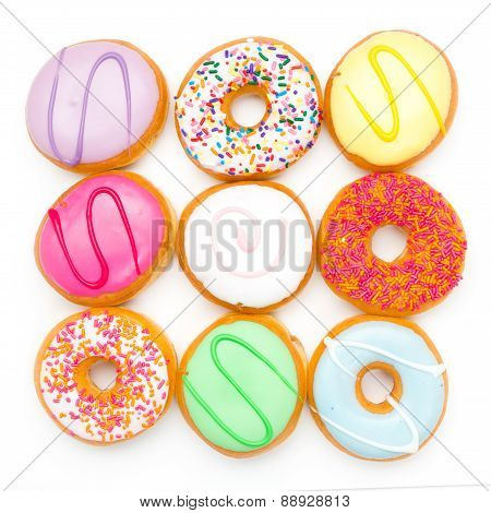 background donut party