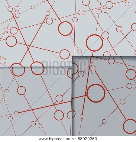 Abstract Line Background.