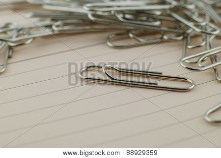 Group Of Paper Clip