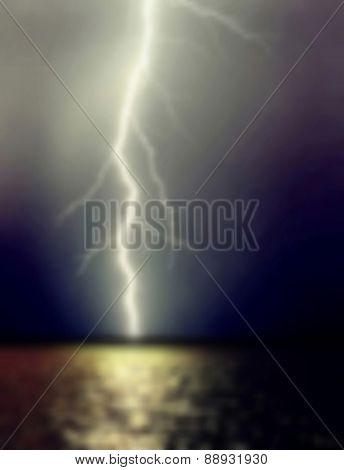 Lightning Thunder-storm.