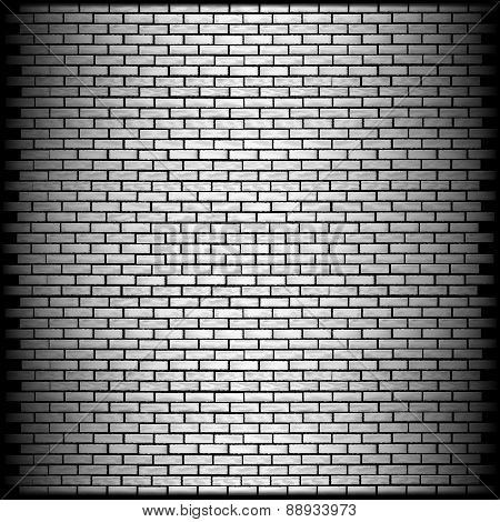 Monochrome Brick Wall