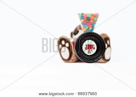 Teddy Bear Whit Milk Chocolate