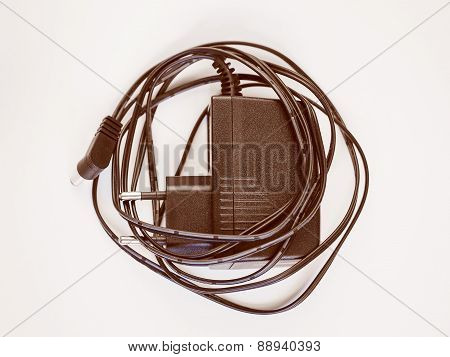 Retro Look Electrical Transformer