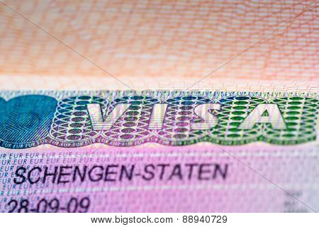 Visa Stamp Travel