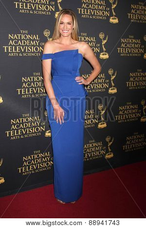 LOS ANGELES - FEB 24:  Ashlan Gorse at the Daytime Emmy Creative Arts Awards 2015 at the Universal Hilton Hotel on April 24, 2015 in Los Angeles, CA