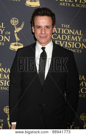 LOS ANGELES - FEB 24:  Christian LeBlanc at the Daytime Emmy Creative Arts Awards 2015 at the Universal Hilton Hotel on April 24, 2015 in Los Angeles, CA