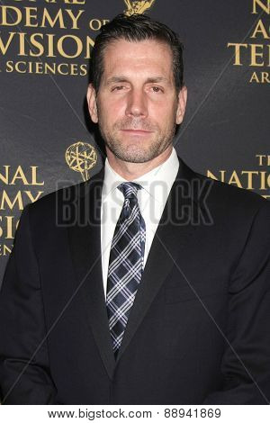 LOS ANGELES - FEB 24:  Frank Valentini at the Daytime Emmy Creative Arts Awards 2015 at the Universal Hilton Hotel on April 24, 2015 in Los Angeles, CA