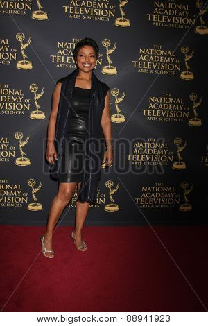 LOS ANGELES - FEB 24:  Judge Lynn Toler at the Daytime Emmy Creative Arts Awards 2015 at the Universal Hilton Hotel on April 24, 2015 in Los Angeles, CA