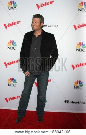LOS ANGELES - FEB 23:  Blake Shelton at the