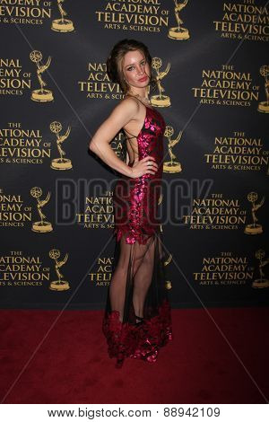 LOS ANGELES - FEB 24:  Celeste Fianna at the Daytime Emmy Creative Arts Awards 2015 at the Universal Hilton Hotel on April 24, 2015 in Los Angeles, CA