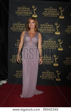 LOS ANGELES - FEB 24:  Marilyn Milian at the Daytime Emmy Creative Arts Awards 2015 at the Universal Hilton Hotel on April 24, 2015 in Los Angeles, CA