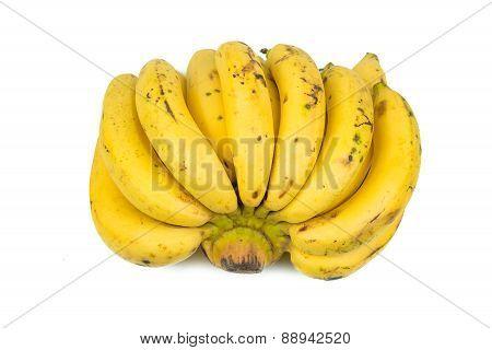 Bananas Isolated On White Background