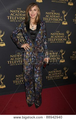 LOS ANGELES - FEB 24:  Lauren Koslow at the Daytime Emmy Creative Arts Awards 2015 at the Universal Hilton Hotel on April 24, 2015 in Los Angeles, CA