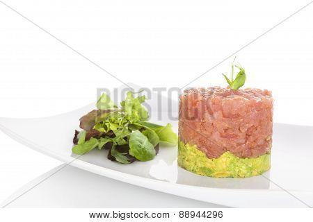 Salmon Tartare.