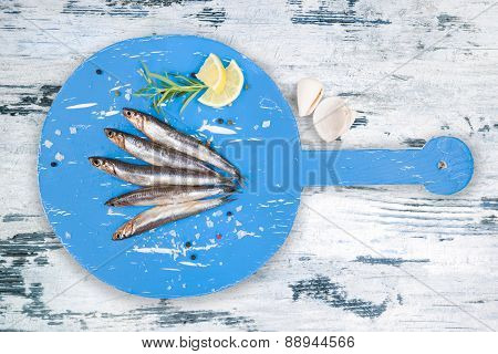 Delicious Fresh Fish Background.