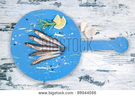 Delicious Fresh Fish Background.