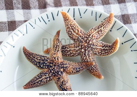 Boiled Edible Starfish